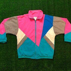 Vintage 80's-90's South Beach Colorway Jacket